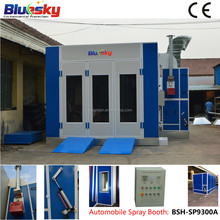 BSH-SP9300A CE car paint mixing machine/baking oven/spray booth machines