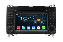 RK3188 A9 chip android 4.4 double din car dvd gps for Benz A/B Class 7 inch