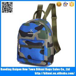 2015 New fashion middle size girlish bag military camo teenagers school backpack bag Alibaba online shopping school bag