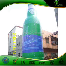 Inflatable Wine Drinking Bottle /Glass Printed- Advertising Product Model/Shaped