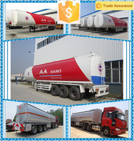 Hot Sale 30,000 liters to 60,000 liters Fuel Tank Truck Petrol Tanker Semi trailer 3 axles crude oil truck dimensions