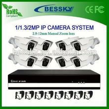 IP CCTV Camera NVR System High Definition Real Time Ip Camera Shenzhen Top Ip Cameras