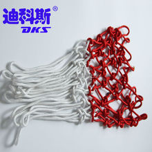 Polyester Indoor Basketball Net For White and Red,Durable Outdoor Basketball Net