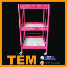 High Quality Movable Colored 3 Layers Ikea Cube Shelf
