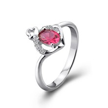 Hot sell latest wedding ring, red coral ring designs for engagement ring