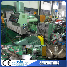 Waste Plastic Recycling Plant Used Pelletizing Extrusion Machine