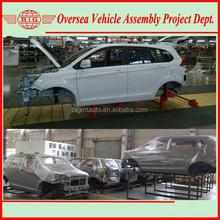 SKD Off Road Vehicle assembling in Ghana