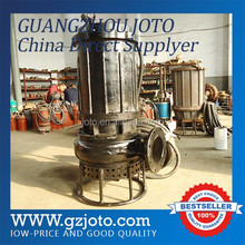 river dredging use No Clogging Vertical Electric submersible river sand and gravel pump
