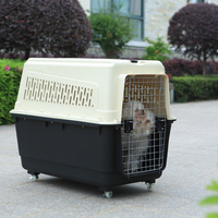 comfortable soft airline approved plastic pet carrier pet travel box