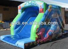 Garden Inflatable Slide,Backyard slide