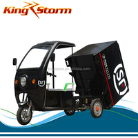 factory sale high power delivery used heavy loading cabin electric tricycle