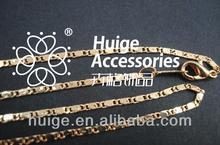 fashion plain rose gold plated bracelet or necklace