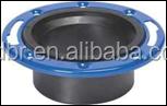 STOP ADJUSTABLE METAL RING-EPOXY COATED CLOSET FLANGE/ bathroom floor drain