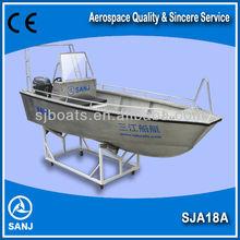 SANJ SJA18A de aluminio, pequeño barco de pesca en venta