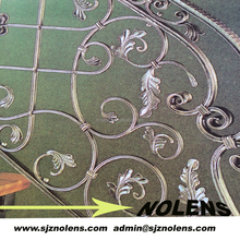 Interior Home Iron Artists Modern Wrought Iron Banister Stairs from Professional Factory