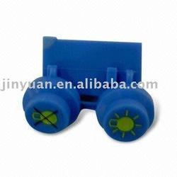 Rubber part & rubber product & rubber push button