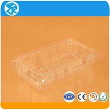 pvc cheap used plastic food sushi containers