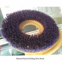 Diamond nylon/ polish abrasive disc brush for Grinding Machine Round Shape