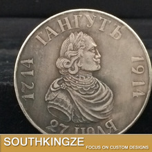 Commemorative old finish antique coins in metal crafts