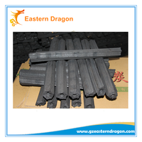 bbq application charcoal made of natural bamboo BBQ charcoal and Burning 5-6 hours OEM high heat value smokeless bbq charcoal