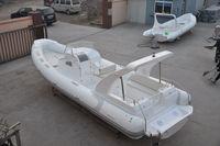 Liya 27 foot rigid inflatable rib boats fiberglass cabin with CE