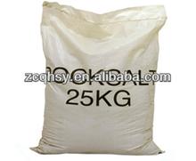 25kg sacos de polipropileno tejido/bolsas de sal/bolsa de sal