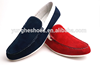 Red sheep suede upper soft sole casual shoes men for driving YF712-1A
