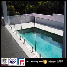 free design glass swimming pool fence for safety