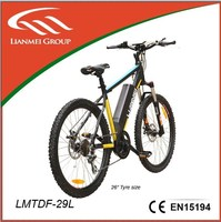 Suspension electric bike with lithium battery LMTDF-29L