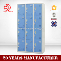 High Quality Commercial Furniture Steel 12 door cheap storage cabinet