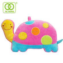 Lovely tortoise animal shaped body embroidered printed pillow cushion