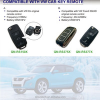 Qinuo new product compatible with VW 315Mhz 434 mhz universal car remote control transmitter