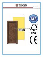 laminate interior imitation wood door China manufactory M013