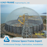 steel frame space structure dome metal roofing steel buildings