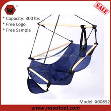 Manufacturer Portable Outdoor 300Lbs Capacity 47cm 83*62cm Hanging Hammock Swing Chair For Sale