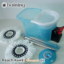2015 Top TV Brands Best Selling Cheaning Equipment Economic Easy Life 360 Spin and Go Pro Crystal Magic Blue Wet Mop with Pedal