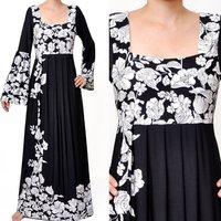 Wholesale Muslim Islamic Long Sleeve Abaya Maxi