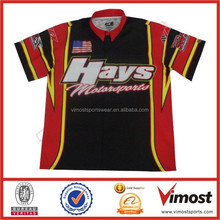Custom Sublimation Motorcycle Racing Shirts For Team RACE-64