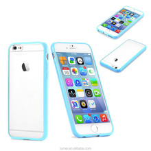 """New Transparent Clear Hard Back Silicon Soft TPU Bumper Case Cover For Apple iPhone 6 4.7"""""""