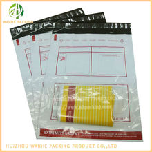 Wholesale custom postage bags high quality poly envelope with clear window guangdong manufacturer