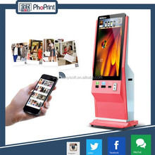 42 inch indoor lcd advertising display stand with photo adversiting