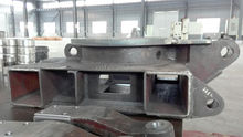 ISO approved customized excavator undercarriage track parts based on drawings