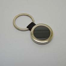 High Quality Custom Round Shape Blank Metal Keychain