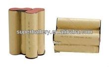 (SAIRI-1000mAh)1000mAh 9.6V nicd high power battery rechargeable recharge battery pack