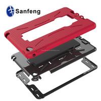 Logo Printing Tablet Case For Apple Ipad Mini 4 Mobile Phone Kickstand Case