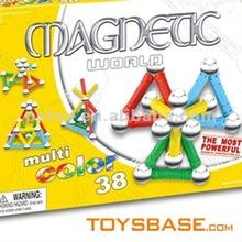 Plastic Magnetic Educational Blocks