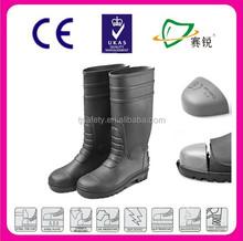 High Quality Long Service Life man Shoe Pvc Boot High Heel Boot