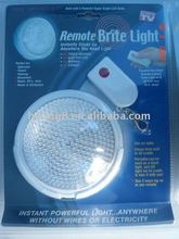 Touch Remote Control Push Light remote brite light bright pull light as seen on TV