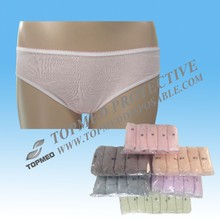 Disposable pure cotton underwear brief panties