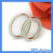 2015 Korean Simple style titanium steel ring male and female tail ring MHo-031
